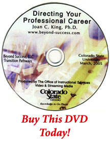 Directing Your Professional Career DVD
